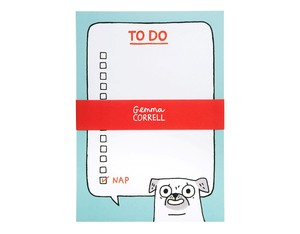 Ohh Deer Pug To Do Notepad