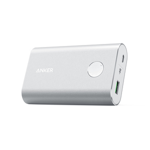 Anker Powercore+ Silver 10050mAh with Qc3.0 Power Bank