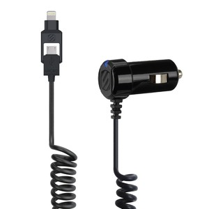 Scosche Lightning/Usb Dual Car Charger