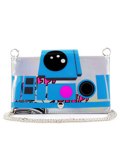 Star Wars R2D2 Clear Envelope Clutch