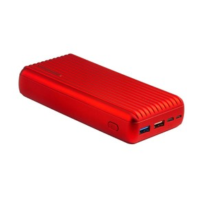 Promate Titan-30 Red 30W Ultra-Fast Charging Power Bank