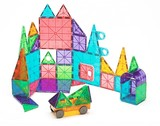 Magna-Tiles Clear Colors 48 Piece Dx Building Set