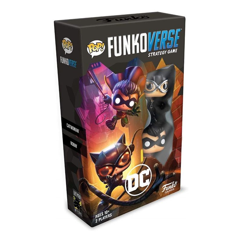 Funko Pop Funkoverse Strategy Game DC Comics 101 Expandalone