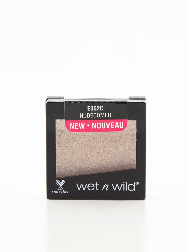 Wet N Wild Color Icon Eyeshadow Glitter Single Nudecomer
