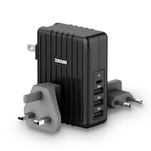 Zendure A Series 4 Port 30W PD Wall Charger-Black