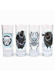 Marvel Black Panther Toothpick Holders 100ml [Set of 4]