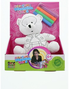 A-One Color & Cuddle Washable Teddy Bear