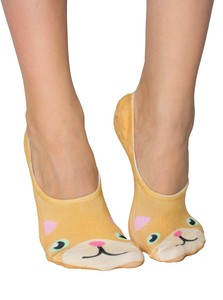 Living Royal Kitty Women's Liner Socks