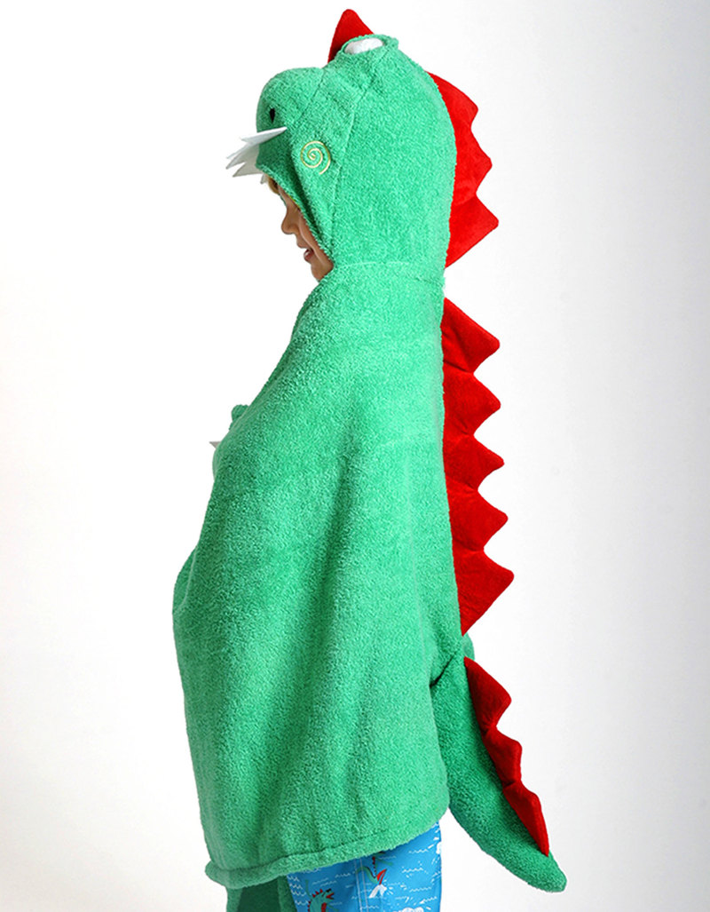 towel for kids. Zoocchini Devin The Dinosaur Bath Towel For Kids