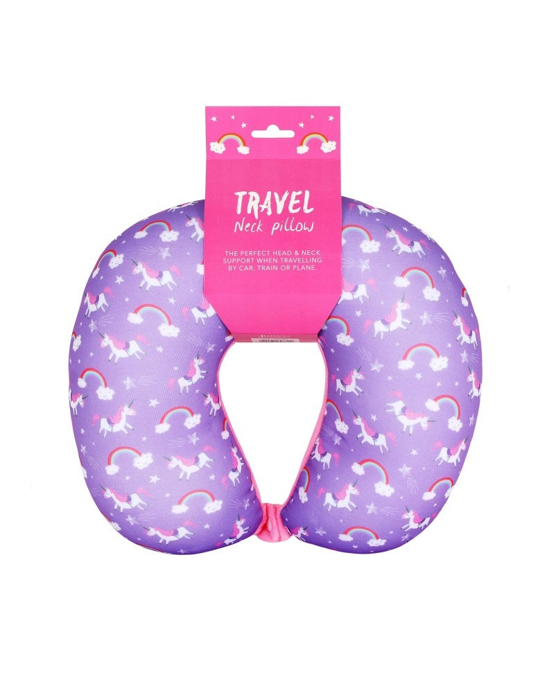 Unicorn Magic Travel Neck Pillow