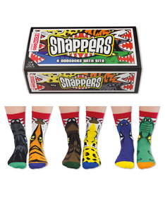 United Oddsocks Snappers Boys Socks [3 Pairs]
