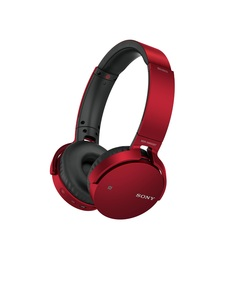 Sony MDR-XB650 Red Bluetooth Headphones