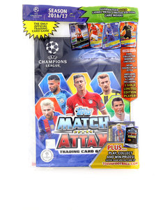Topps Champions League 17 Trading Card Starter Pack