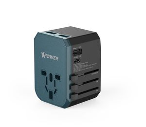 XPower TA4PD 42W PD & Qc 3.0 Travel Adapter Black