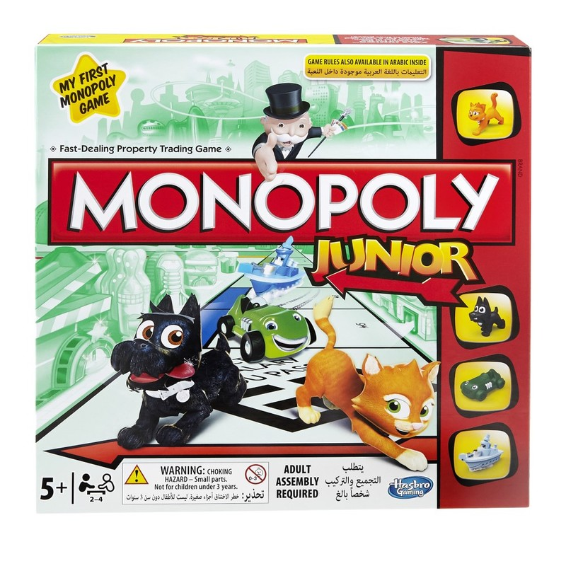 Monopoly Junior Board Game [English/Arabic]