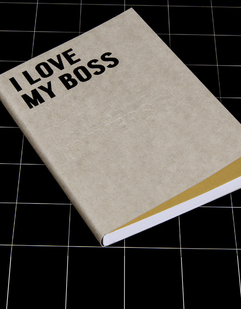Happily Ever Paper Fill I Love My Boss 15 X 21 Cm Notebook