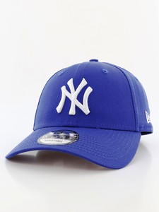 New Era 9Forty League Basic NY Yankees Light Royal/White Cap