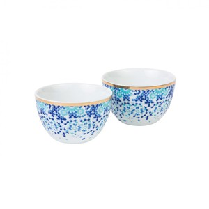 Silsal Set Of 2 Mirrors Nut Bowls