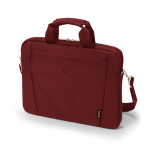 DICOTA SLIM CASE BASE RED LAPTOP BAG FITS 15-15.6-INCH