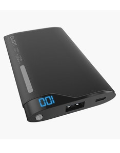 Cygnett Chargeup Digital 1 Port 2.1A Black/Grey 4000Mah Power Bank