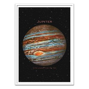 Jupiter Art Poster by Terry Fan [30 x 40 cm]