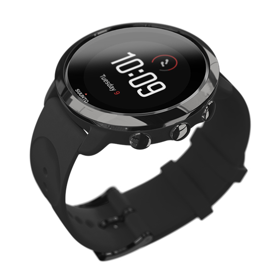 Suunto 3 Fitness All Black Sports Watch