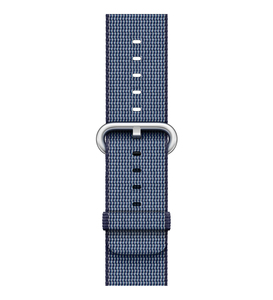 Apple Watch Midnight Blue Woven Nylon 42mm