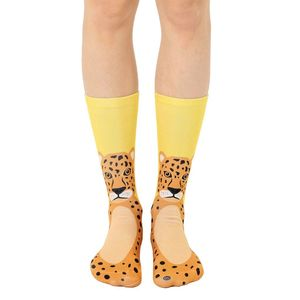 Living Royal Cheetah Women's Crew Socks