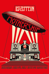 Led Zeppelin Mothership Red Maxi Poster [61 x 91.5 cm]
