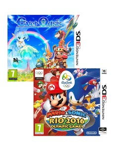 Sonic Rio Olympics + Ever Oasis [Bundle]