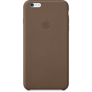 Apple Leather Case Olive Brown iPhone 6 Plus