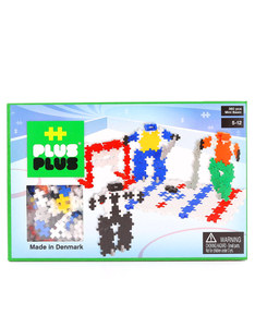 Plus-Plus Mini Basic Building Blocks Hockey [360 Pcs]