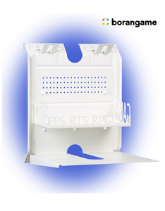 Borangame Gameside Bundle Big Daddy Game Console Horizontal Wall Mount With LED White