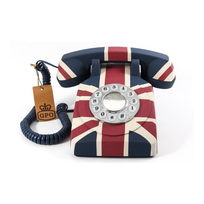GPO Telephones Union Flag