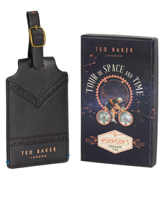 Ted Baker Black Luggage Tag