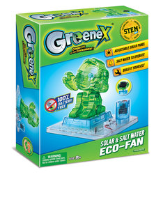Amazing Toys GreeneX Solar & Salt Water Eco-Fan