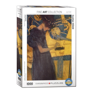 Eurographics The Music by Gustav Klimt Jigsaw Puzzle [1000 Piece]