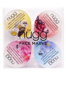 Nugg Beauty Face Mask Palette For Hydrated & Radiant Skin 10ml [4 Pack]