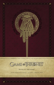 Game Of Thrones King's Hand Hardcover Ruled Journal