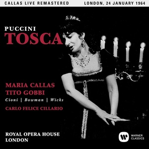 PUCCINI: TOSCA (COVENT GARDEN 24/01/1964)