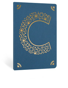 Portico Design C Monogram Navy Blue A6 Notebook