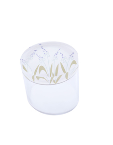 Silsal Seasonal Acrylic Catch All Lavender Container [Small]
