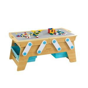 Kidkraft Building Bricks Play N Store Table Dollhouse