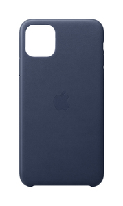 Apple Leather Case Midnight Blue for iPhone 11 Pro Max