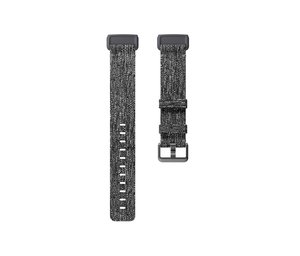 Fitbit Charge 3 Band Woven Charcoal Large