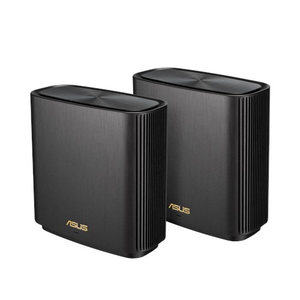 ASUS Zenwifi AX6600 Whole-Home Tri-Band Mesh Wifi 6 System Black (2.4 Ghz / 5 Ghz / 5 Ghz) [2 Pack]