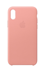 APPLE LEATHER CASE SOFT PINK FOR IPHONE X