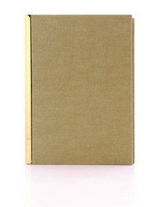 Happily Ever Paper Promise Brass Notebook 13.5 x 19.5cm