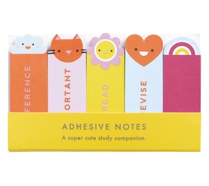 kikki.K Study Adhesive Notes Cute 2019 [5 Pack]
