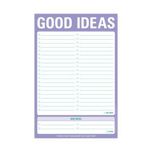 Knock Knock Good Idea Bad Ideas Classic Pad